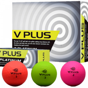 GOLFBALL - V PLUS 3 PLATINUM
