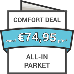 Comfort all-in parket inclusief leggen