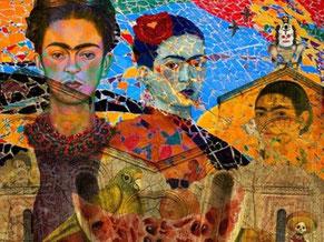 Frida Kahlo og Diego Rivera