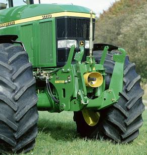 John Deere 7810 Fronthydraulik