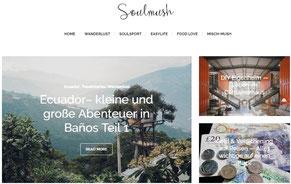 Soulmush.de, Lifetravellerz Lieblingsblogs, Surfblog, luigiontour