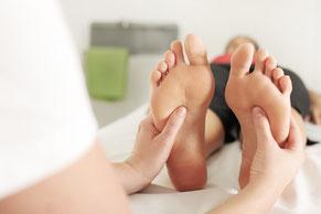 Energie Zonen Massage Füsse Asiatisch Fussreflexzonen