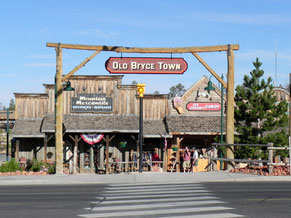 "Ab ins ""Old Bryce Town""...."