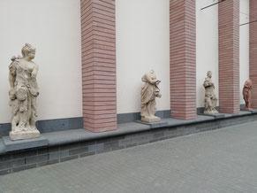 musée historique sculptures Francfort