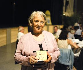 """Paulette Dauzats, lauréate du """"Trophées des Sports"""" organisés par le Département en 2015 à Graulhet."""