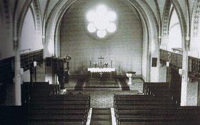 Der Kirchenraum 1997