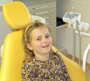 Behandlung von Kindern angstfrei