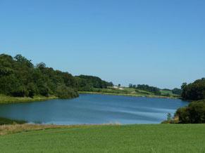 lago y pesca Castillon-de-Lembeye (vic-bilh / madiran)