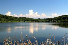 lago y pesca Gabassot Garlin (vic-bilh / madiran)
