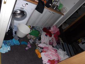 Wäsche!