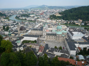 ザルツブルク旧市街地