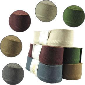 Schmuckband mit eingearbeiteter Webkante, BW, 9er Breite. Farben: creme, bordeaux, beige, grau, grün (solange der Vorrat reicht)