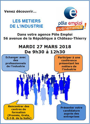 formation pole emploi industrie