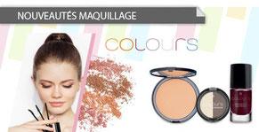 La gamme L.R. COLOURS pour toutes les femmes.  Toutes les formules sont issues d'une qualité optimale et nouvelle.  Des couleurs originales.