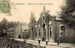 Les eaux d'Emmerin - Origine Archives Municipales d'Emmerin