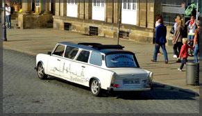 Trabi - Taxi, selten!