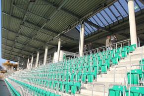Fast wie im Profifussball - das Stadion in Rödinghausen