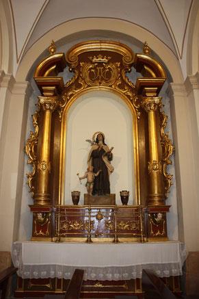 Altar Santa Teresa de Jesús