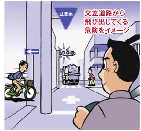 雨の日のバイクスリップ