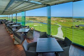 Blick von der Terasse des Clubhauses Royal Obidos