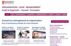 Exemple de site web marketing digital TPE réalisé avec JIMDO