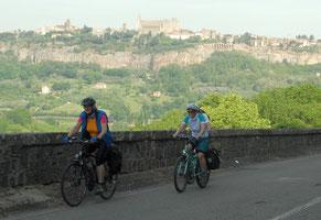 Italien, Toskana, Urlaub Radreisen, Velotraum, bergauf, Radfahren, aufwärts