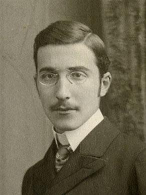 Un jove Stefan Zweig