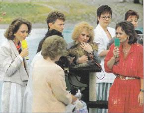 Birgitta Kuhlmey, Katzenschau ZDF-Fernsehgarten, 1993