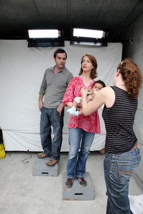 Fotoshootings bedürfen einer gründlichen Vorbereitung: Auch Maskenbildnerin und Kostüm gehören dazu!