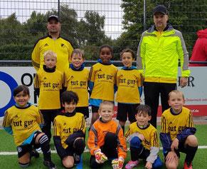 TuS F3-Jugend in Schönebeck. - Fotos: taki.