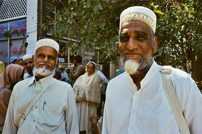 Pilgergruppe aus Pakistan