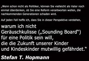 Hopmanns Appell an Faßmann  Bild:spagra