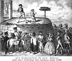 """Hinrichtungsstätte """"Rabenstein"""" in Rossau bei Wien*"""