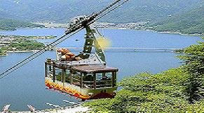 カチカチ山ロープウェイ画像