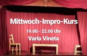 Mittwoch Impro Kurs Berlin Pankow