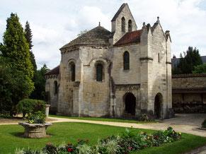 La chapelle des Templiers de Laon.