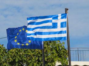 friedlich vereint - Europa und Griechenland