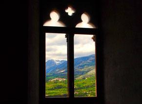 das Burgfenster im Frauengemach