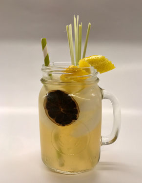Asian Lemonade, Asiatische Limonade, Mocktail, Alkoholfreier Cocktail, Alkoholfreie Cocktails