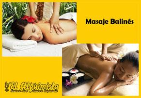 Masaje Balinés Herbolario Alquimista Arrecife Lanzarote