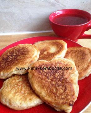 kombucha pancakes