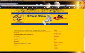 Homepage KG VigaunAbtenau