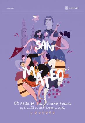 Fiestas en Logroño Fiestas de San Mateo Programa y Cartel