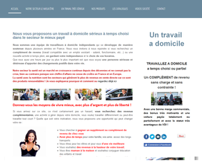 Site de recrutement gratuit LR avec notre team - Exemple de Site GRATUIT avec notre équipe