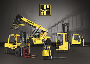 product range Hyster forklift and reachstackers