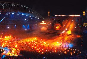 「21年前のオリンピック開幕式」 写真 329x483mm