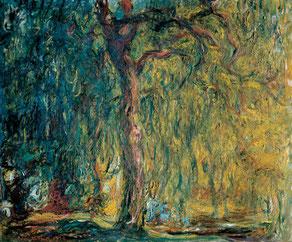 Gemälde, Baum, Impressionist, Monet