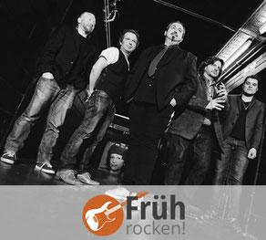 FRÜHROCKEN! avec The BluesBones le 25 novembre à 11h30 au Jünglingshaus à Eupen.