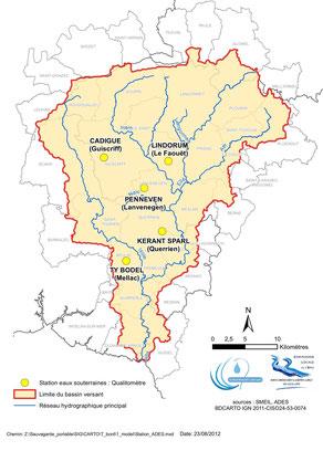 Stations eaux souterraines ADES