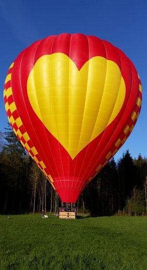 Ballonfahren+Ballonfahrt+Heißluftballon